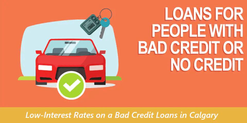 bad credit loans in calgary, ab