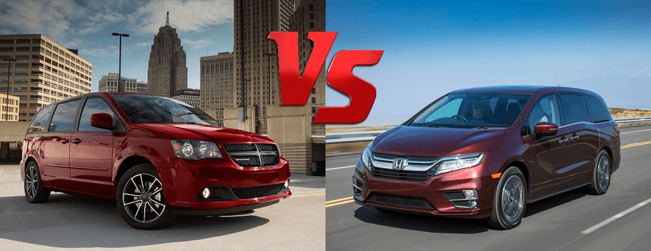 2020 Dodge Grand Caravan vs 2020 Honda Odyssey