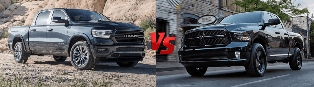 Different Between the 2019 Ram 1500 and the Ram 1500 Classic