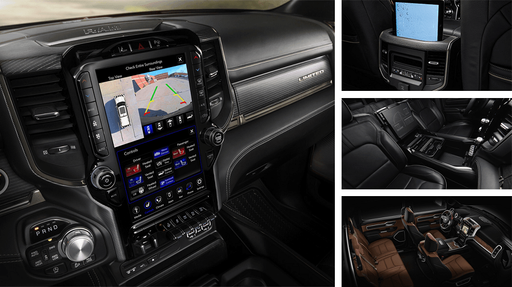 2020 Ram 1500 Sport Interior Safety and Technology features